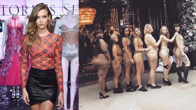 Gorditas protestan en las tiendas de Victoria's Secret por ser discriminadas