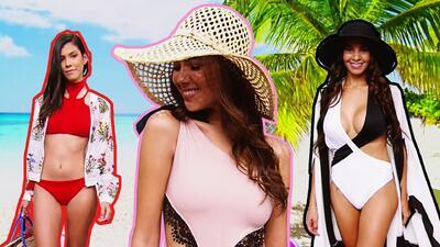 Llegaron las nuevas tendencias en trajes de baño, y ya no podemos esperar a que llegue el verano
