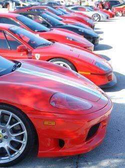 En la primera etapa del calendario 2009, el Ferrari Challenge reunió a c...