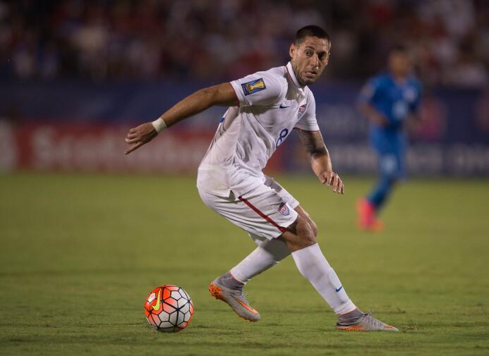 Clint Dempsey en la victoria de EE.UU. sobre Honduras