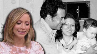 Satcha recuerda con gran amor a su fallecido padre Rolando Pretto