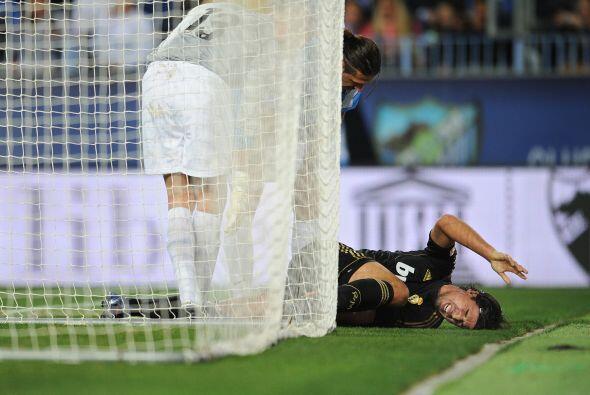 Los visitantes sufrieron la lesión del alemán Sami Khedira.