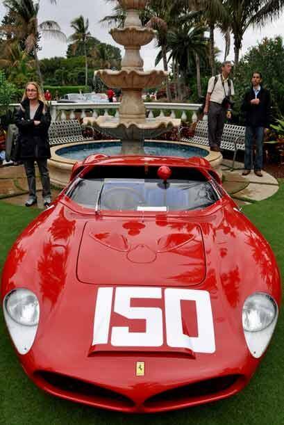 El Ferrari 268/196 SP de 1962 es todo un clásico de las competencias de...