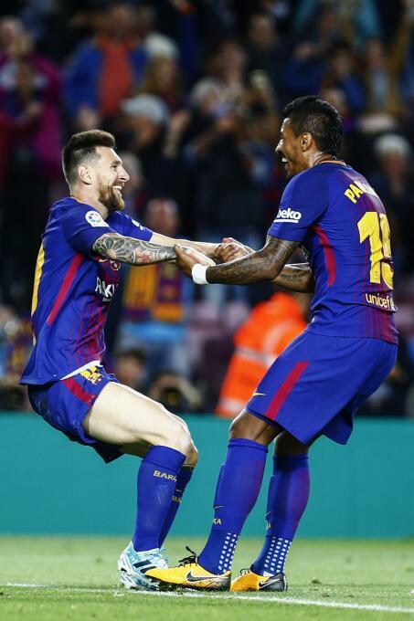 Faena de Messi en la goleada 6-1 del Barcelona sobre Eibar 6364146162411...