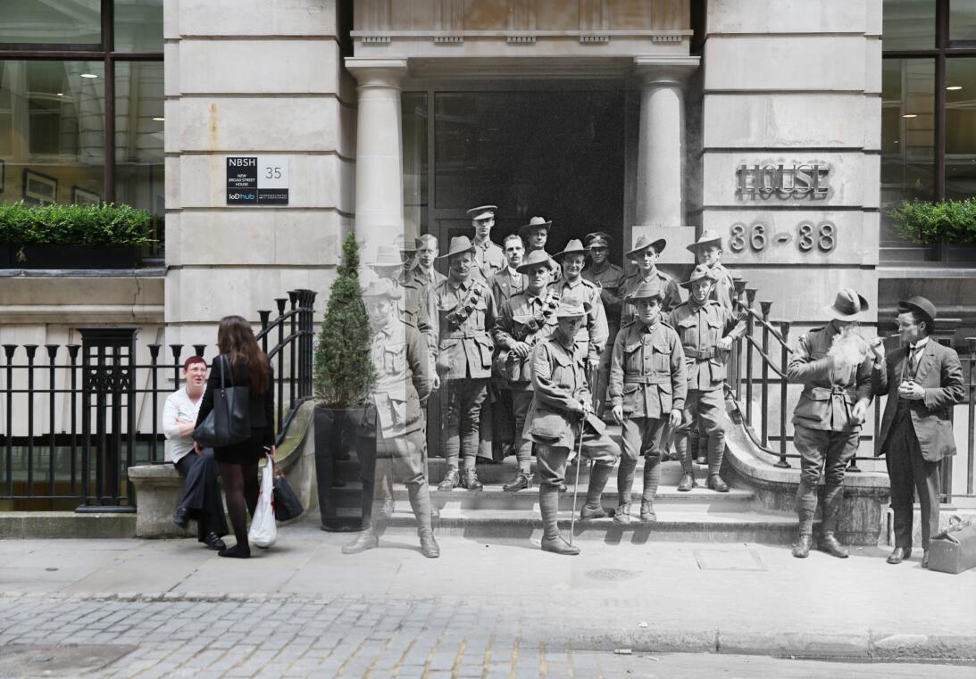 Primera Guerra Mundial antes y ahora