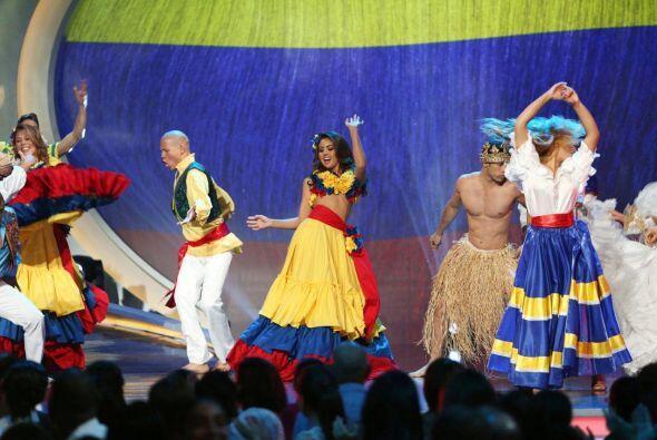 """Bárbara Turbay presentó un baile típico colombiano con """"La gota fría"""" de..."""