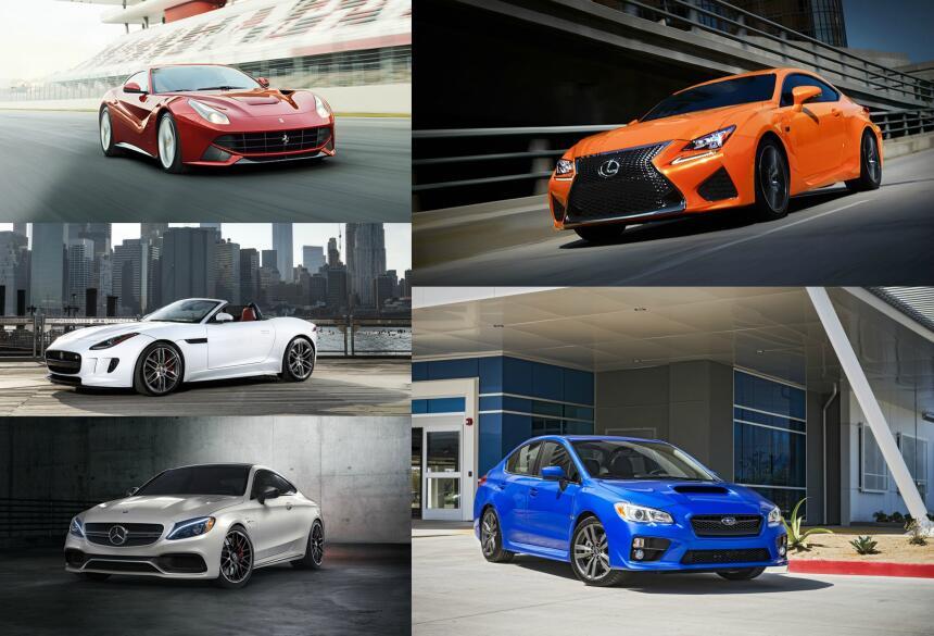 """El sitio CarBuzz eligió cinco autos que bien podrían considerarse """"muscl..."""