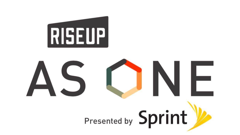 Riseup as one logo sprint
