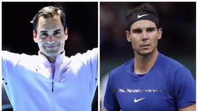 Roger Federer y Rafael Nadal lideran los grupos del ATP World Tour Finals