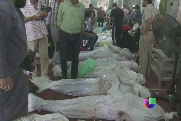 El número de muertos por los enfrentamientos ocurridos el miércoles entr...