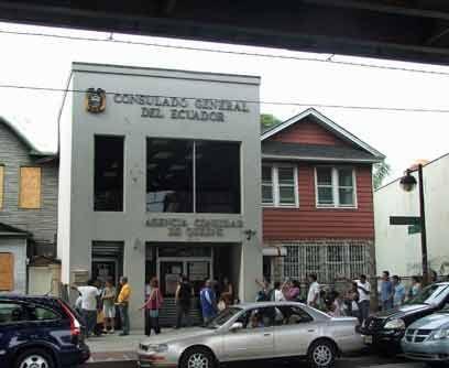 El Consulado de Ecuador en la Avenida Roosevelt tiene una ubicación estr...