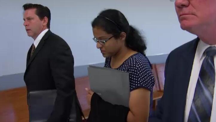 Sini Mathews ha acudido a dos audiencias en una corte de familia de Dall...