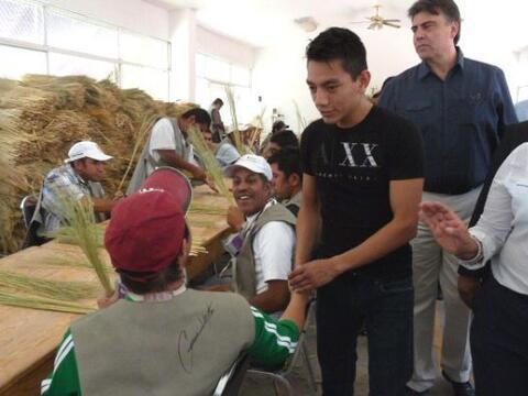 Intensa actividad social y humanitaria tuvo el campeón mundial su...
