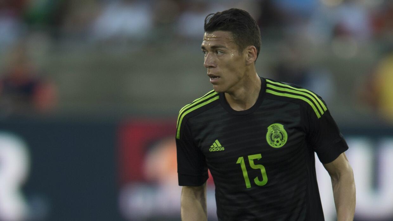 El defensor mexicano se perderá la Copa Oro.