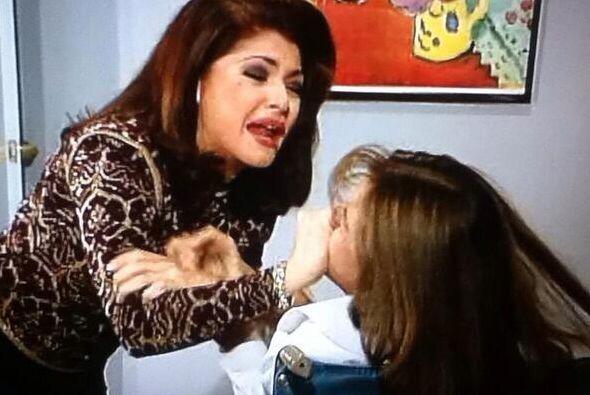 """En especial por su famosísima escena donde grita: """"¡Qué haces besando a..."""