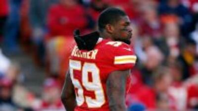 Joven Belcher, linebacker de los Kansas City Chiefs, falleció el 1 de di...