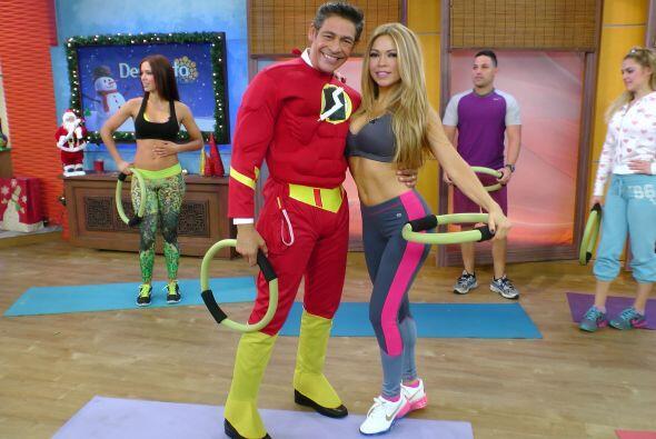 Y en un dos por tres, Flash Boricua y Claudia Molina nos mostraron algun...