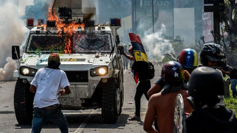 Las protestas en Venezuela superan ya los 40 días de duración.