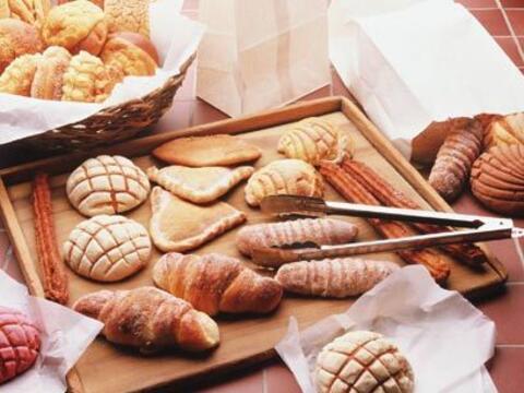 8. Compra en la panadería de la tiendaCada vez más superme...
