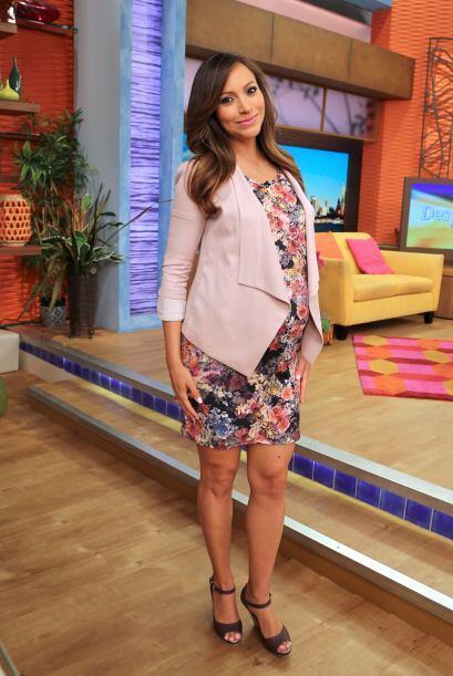 Satcha está en la recta final de su embarazo, muy pronto tendr&aa...