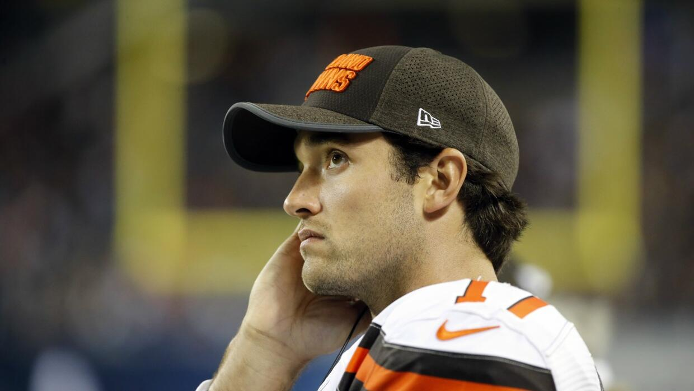Brock Osweiler no convenció a los Browns.