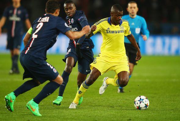 PSG tuvo varias oportunidades pero no convirtieron  al final el Chelsea...