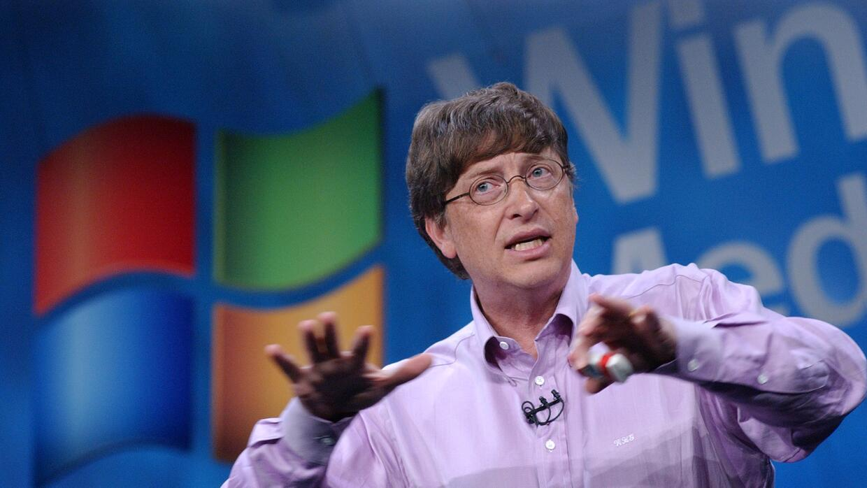 Bill Gates fue un hacker.
