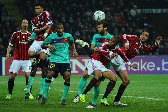 Milan lo intentó hasta los últimos minutos sin conseguirlo.