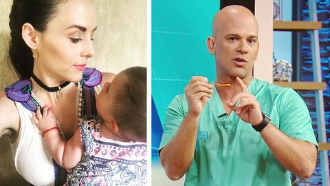 A la bebé de Zuria Vega le están saliendo los dientes, ¿cómo puede alivi...