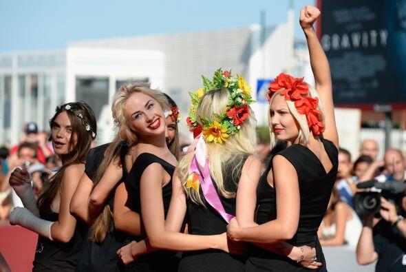 Femen se fundó en Ucrania en el 2008 en protesta contra el turismo sexua...