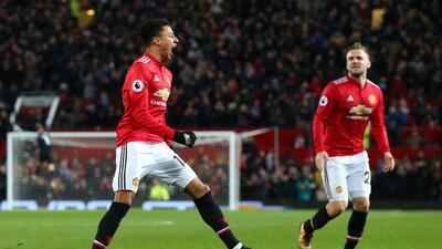 Manchester United rescató un punto de local ante Burnley