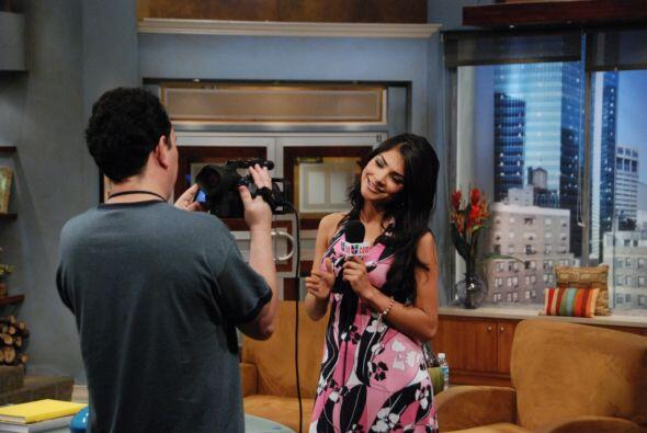 """En El Gordo y la Flaca, tuvo un segmento titulado """"Las 5 de Ale""""."""