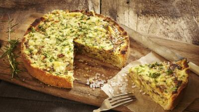 Sorprende a tu familia con deliciosas recetas de 'quiche' iStock_0000211...