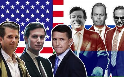 Los que están bajo escrutinio de la investigaciónd el Rusi...