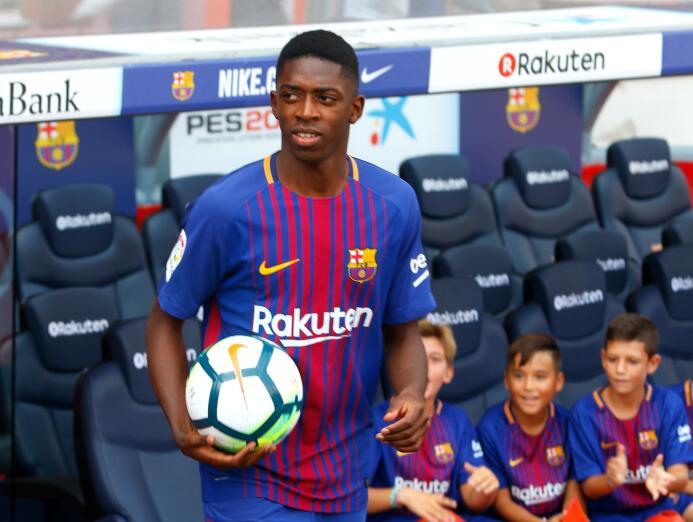 Extremo: Ousmane Dembelé (F.C. Barcelona)