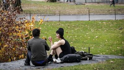 Se registran altas temperaturas en Nueva York