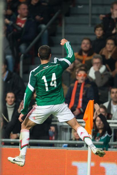 14 Javier Hernández: Ya se sabía que se entiende bien con Carlos Vela y...