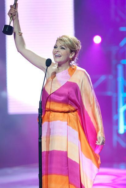 Esta interpretación le dio un Premio TVyNovelas por Mejor actriz...