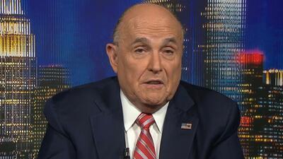 """Rudy Giuliani: """"Nunca dije que no hubo colusión"""" entre la campaña de Trump y Rusia"""