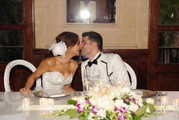 Así se vivió la fiesta de Ale y Aníbal, quienes ya son formalmente marid...