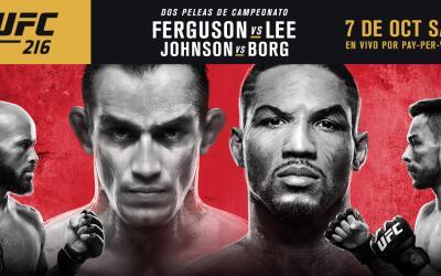 Tony Ferguson y Kevin Lee pelearán el próximo 7 de octubre...