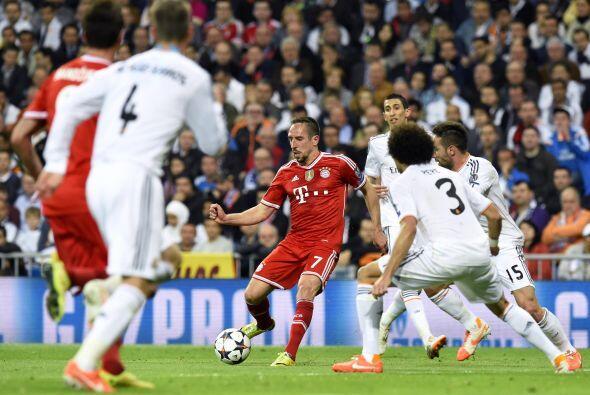 Frank Ribery fue menos importante de lo que nos tiene acostumbrados y de...