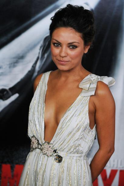 Según la propia actriz no está conforme con su cuerpo pues le gustaría t...