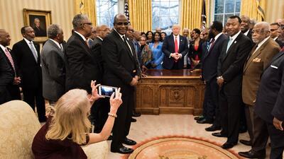 En fotos: Momentos no tan 'solemnes' en la Oficina Oval