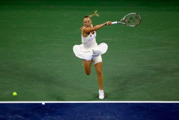 Wozniacki perdió una nueva oportunidad de poder ganar su primer torneo d...