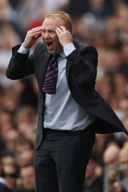 El DT del Aston Villa y sus gestos fueron de los mejor en el aburrido pa...