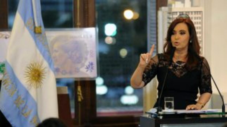 Cristina Fernándezpidió a la justicia que intervenga y condene a quiene...