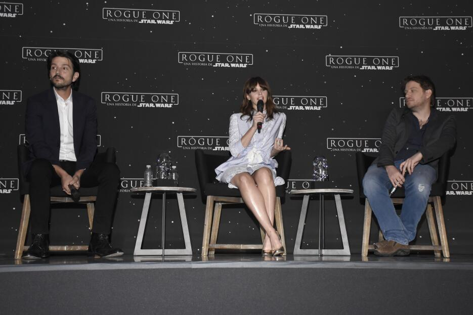 Diego Luna habla de 'Rogue One: A Star Wars Story' en la Ciudad...