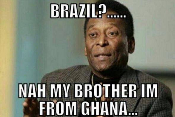 Hasta Pelé se deslinda. Todo sobre el Mundial de Brasil 2014.