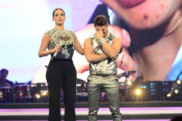 Gali le mostró durante el show un segmento donde se explicaba la emergen...